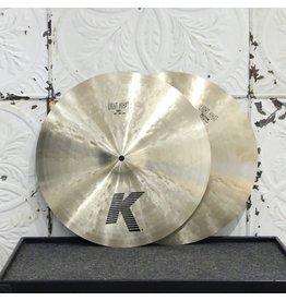 Zildjian Cymbales hi-hat Zildjian K Light 16po (1376/1690g)
