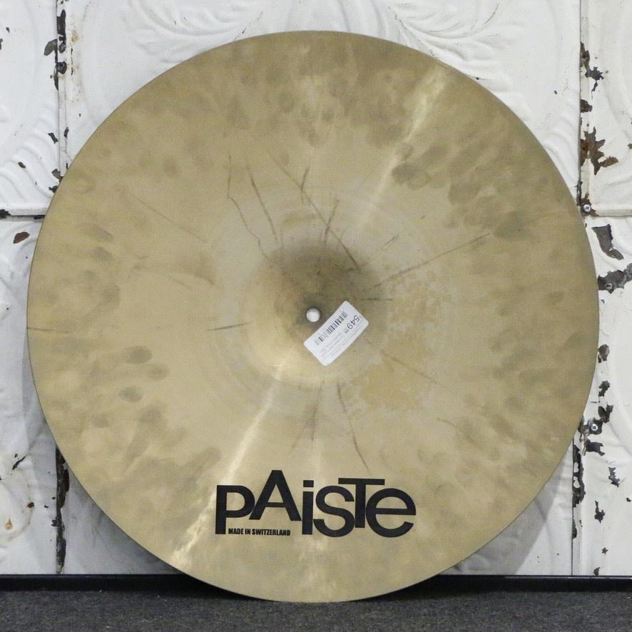 Paiste Paiste Masters Dark Dry Ride Cymbal 20in (2488g)