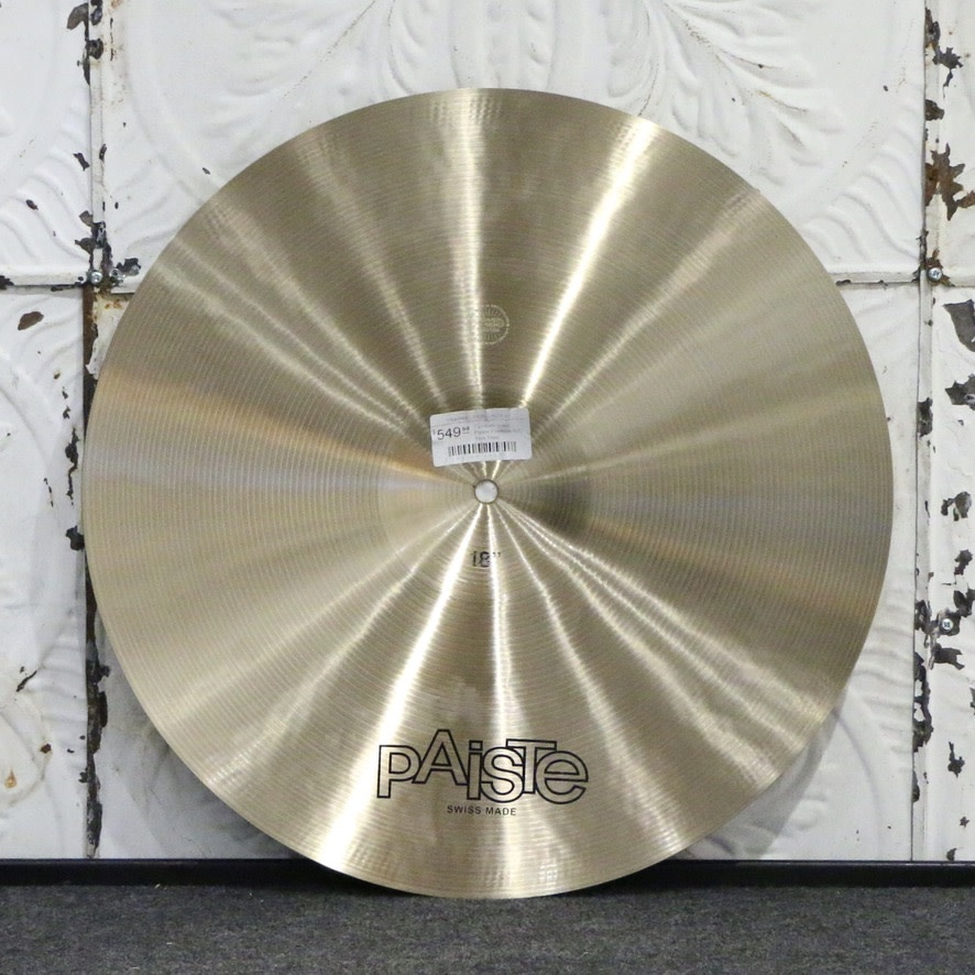 Paiste Paiste Formula 602 Thin Crash Cymbal 18in (1344g)