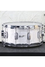 Rogers Rogers Dyna-Sonic Snare Drum 14X6.5in - White Marine Pearl