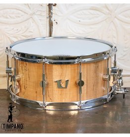 Unix Unix Spalted Maple Stave Snare Drum 14X6.5in