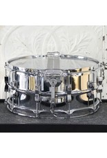 Ludwig Used Ludwig Super-Sensitive Snare Drum 14X6.5in - bow-tie lugs