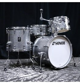 Sonor Sonor AQ2 Bop Kit 18-12-14po + 14in Snare Drum with tom/cymbale - Titanium Quartz