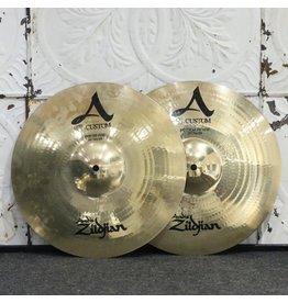 Zildjian Cymbales hi-hat usagées Zildjian A Custom 14po (1036/1264g)