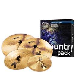 Zildjian Ensemble de cymbale Zildjian K Country Pack (4 morceaux)