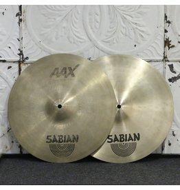 Sabian Cymbales hi-hat usagées Sabian AAX Stage 14po (1022/1398g)