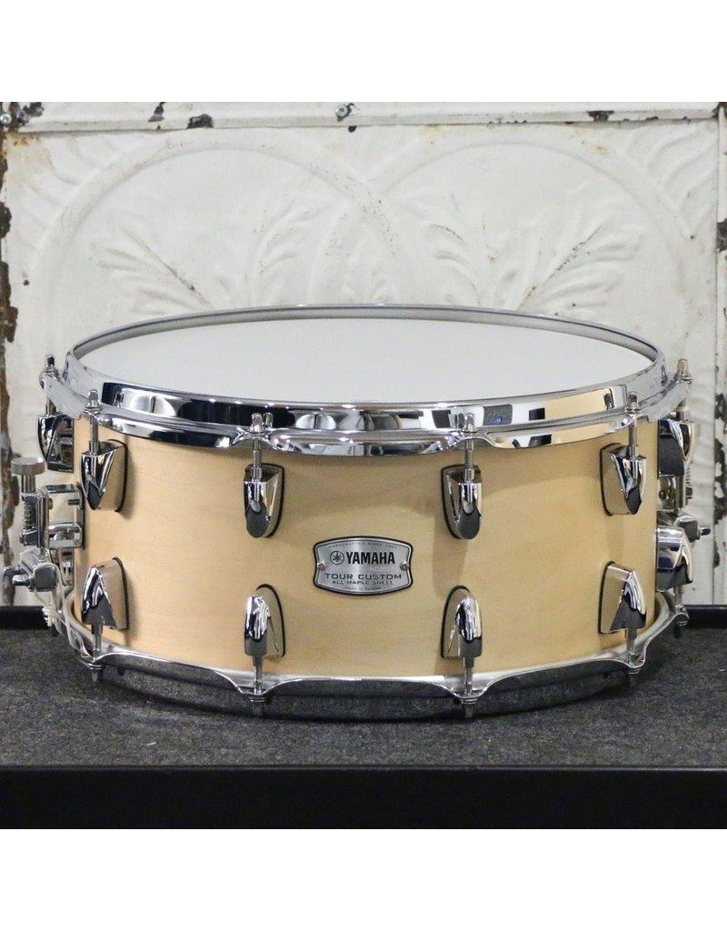 Yamaha Yamaha Tour Custom Snare Drum 14X6.5in - Butterscotch Satin