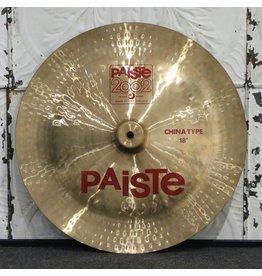 Paiste Cymbale chinoise usagée Paiste 2002 18po (1258g)