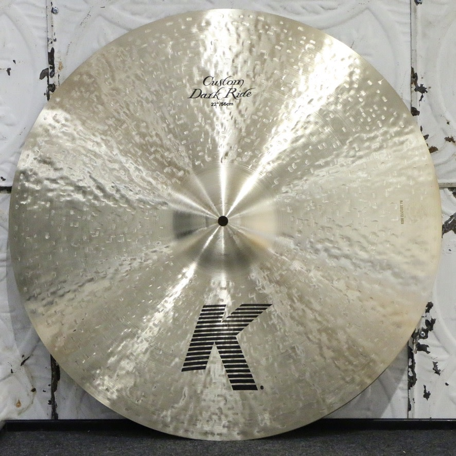 Zildjian Zildjian K Custom Dark Ride Cymbal 22in (2586g)