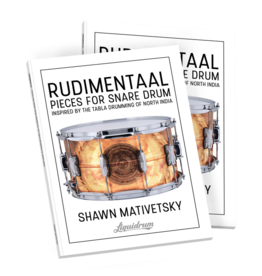 Rudimentaal - Pieces for Snare Drum - Shawn Mativetsky