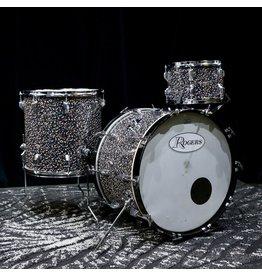 Rogers Used Vintage Rogers Power Tone drums 22-12-16in (Mardi Gras rewrap)