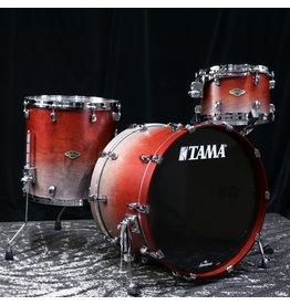 Tama Tama Starclassic Walnut/Birch Drum Set 22-12-16in - Satin Burgundy Fade