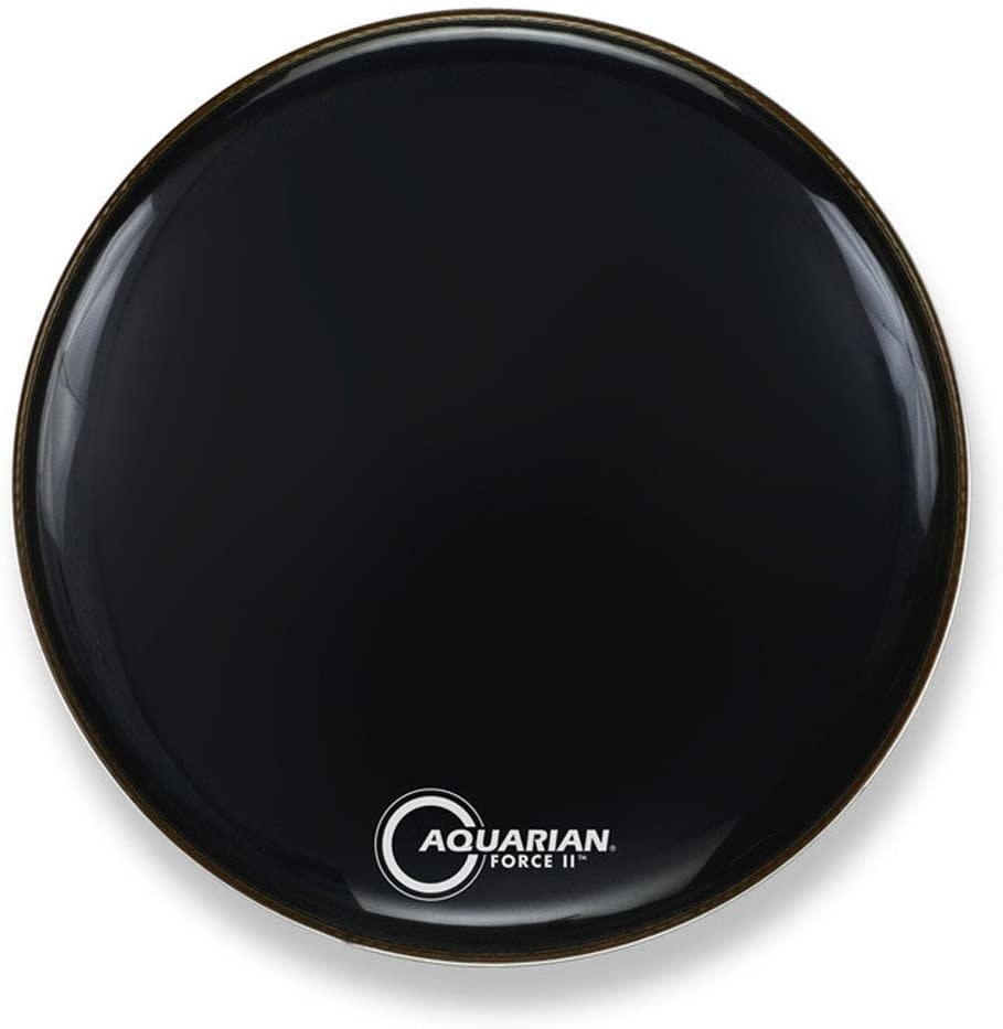 Aquarian Aquarian Force II Resonant Head Gloss Black 22in