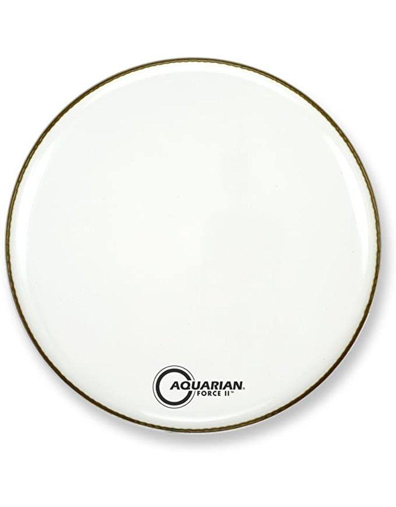 Aquarian Aquarian Force II Resonant Head Gloss White 24in