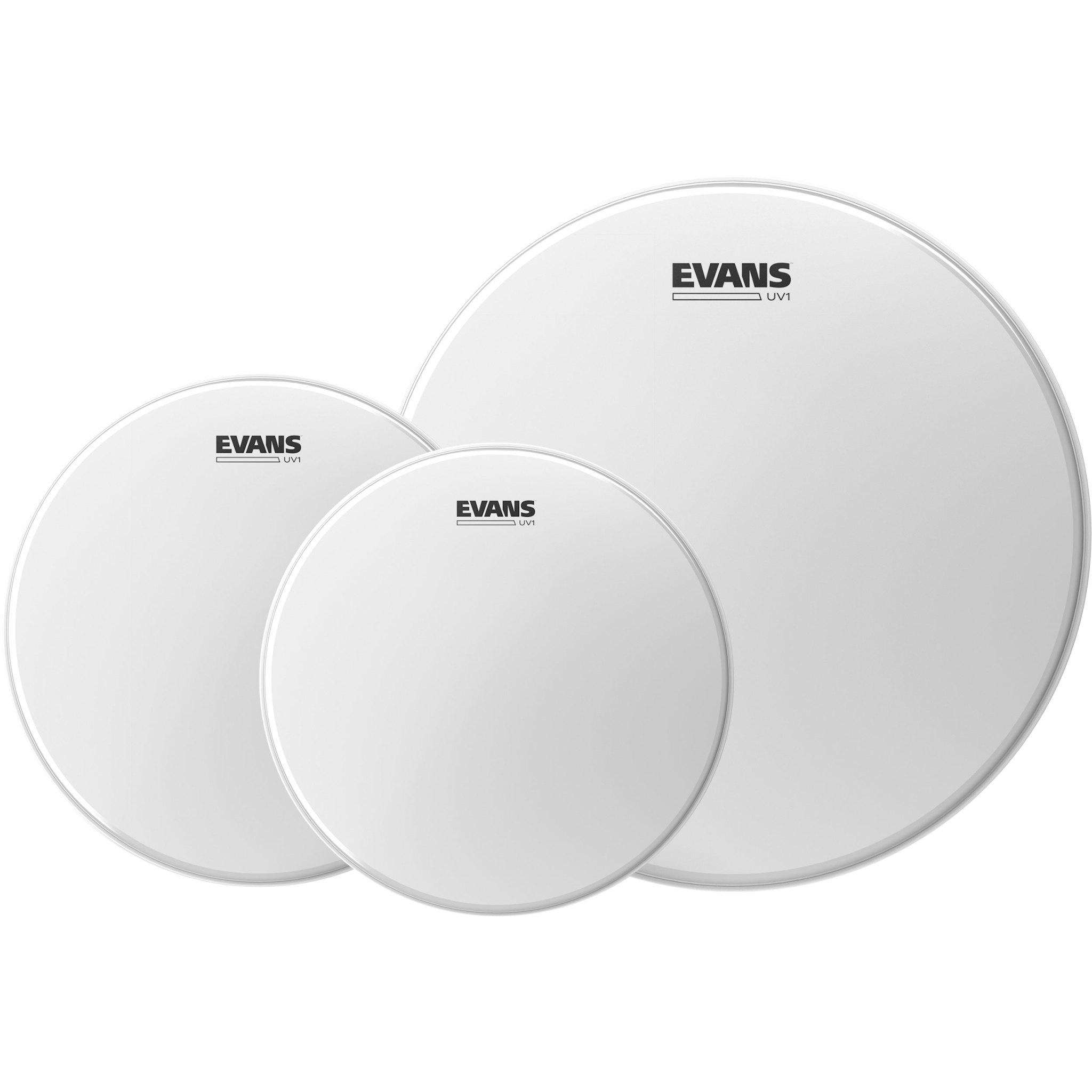 Evans Evans Drumhead pack UV1 Coated 10-12-14in