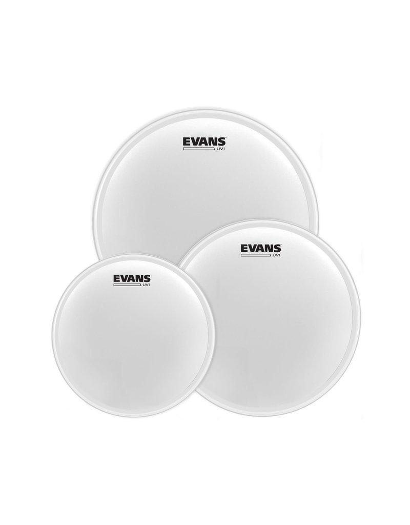 Evans  Evans Drumhead pack UV1 Coated 12-13-16in