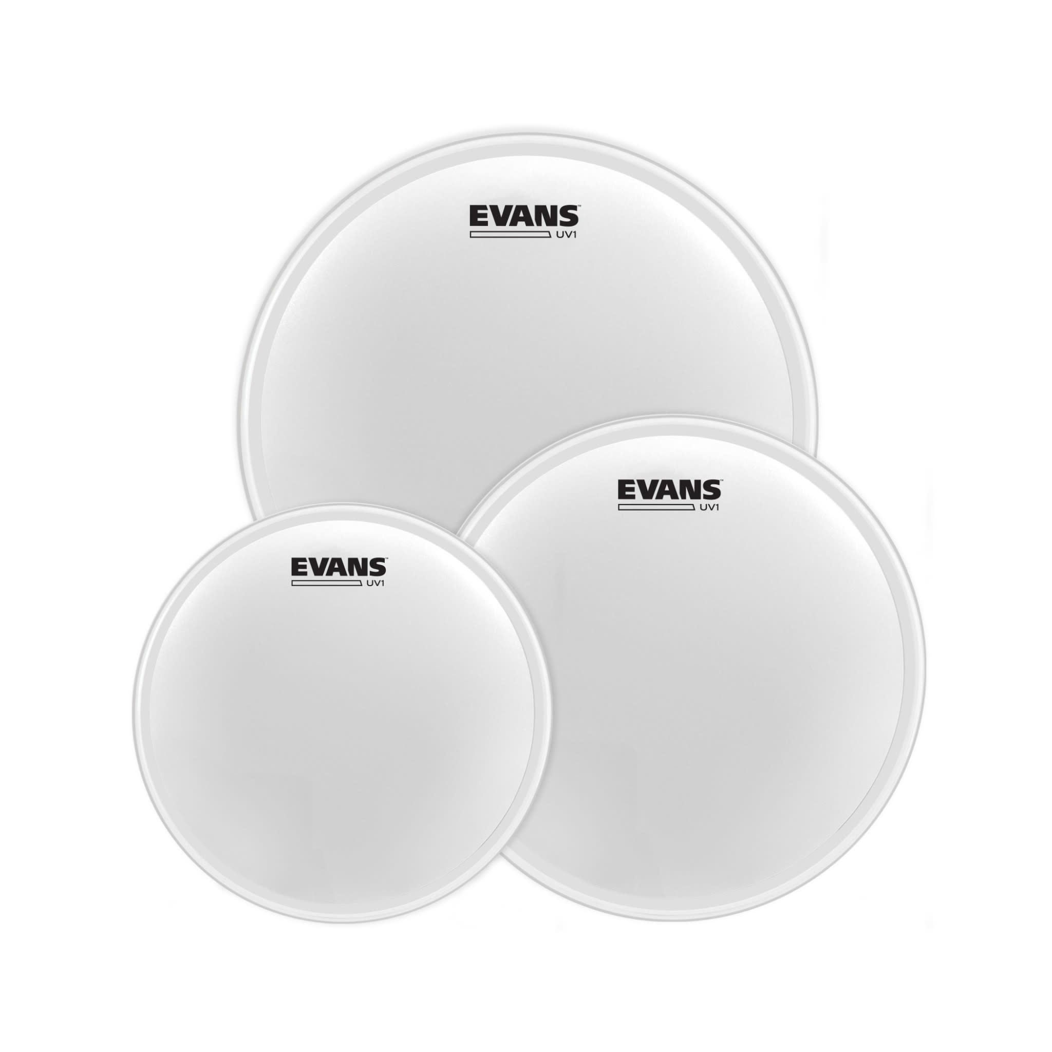 Evans  Evans Drumhead pack UV1 Coated 12-13-16in