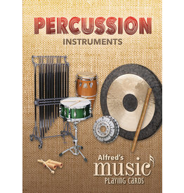 Alfred Music Alfreds Music Playing Cards : Percussion Instruments