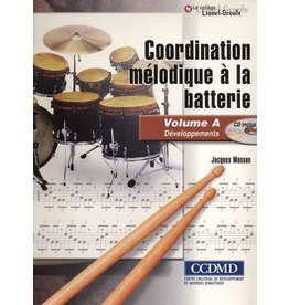 Jacques Masson, Coordination mélodique à la batterie