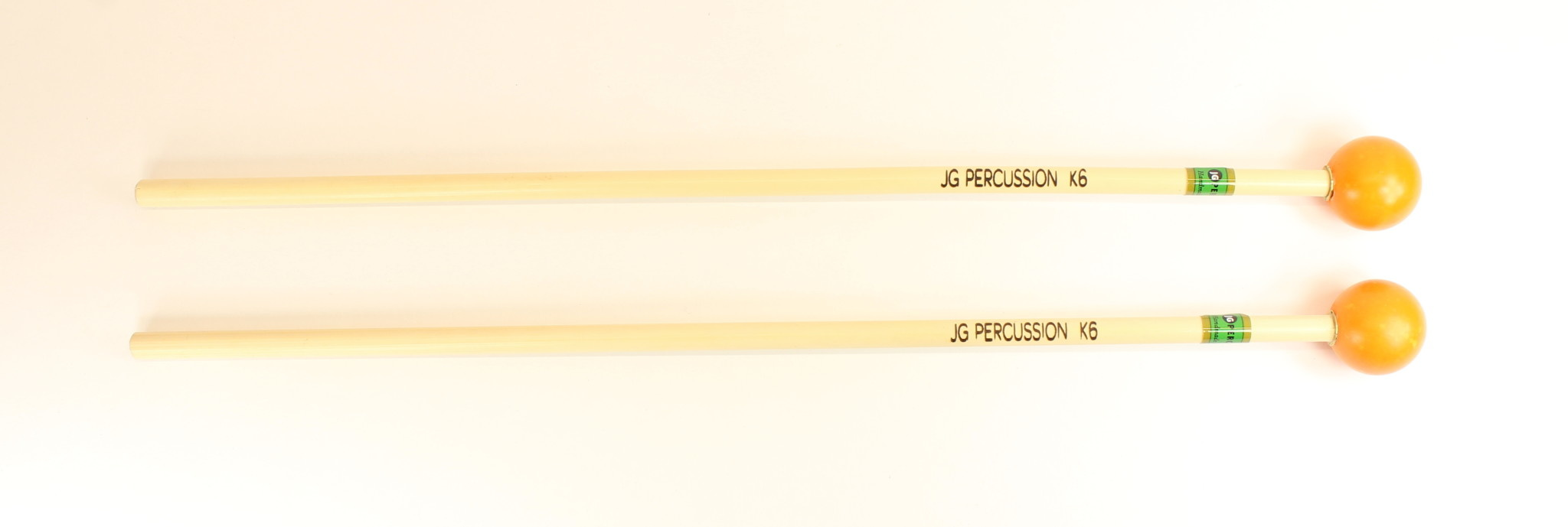 JG Percussion Baguettes JG K6 Impact nylon with brass insert