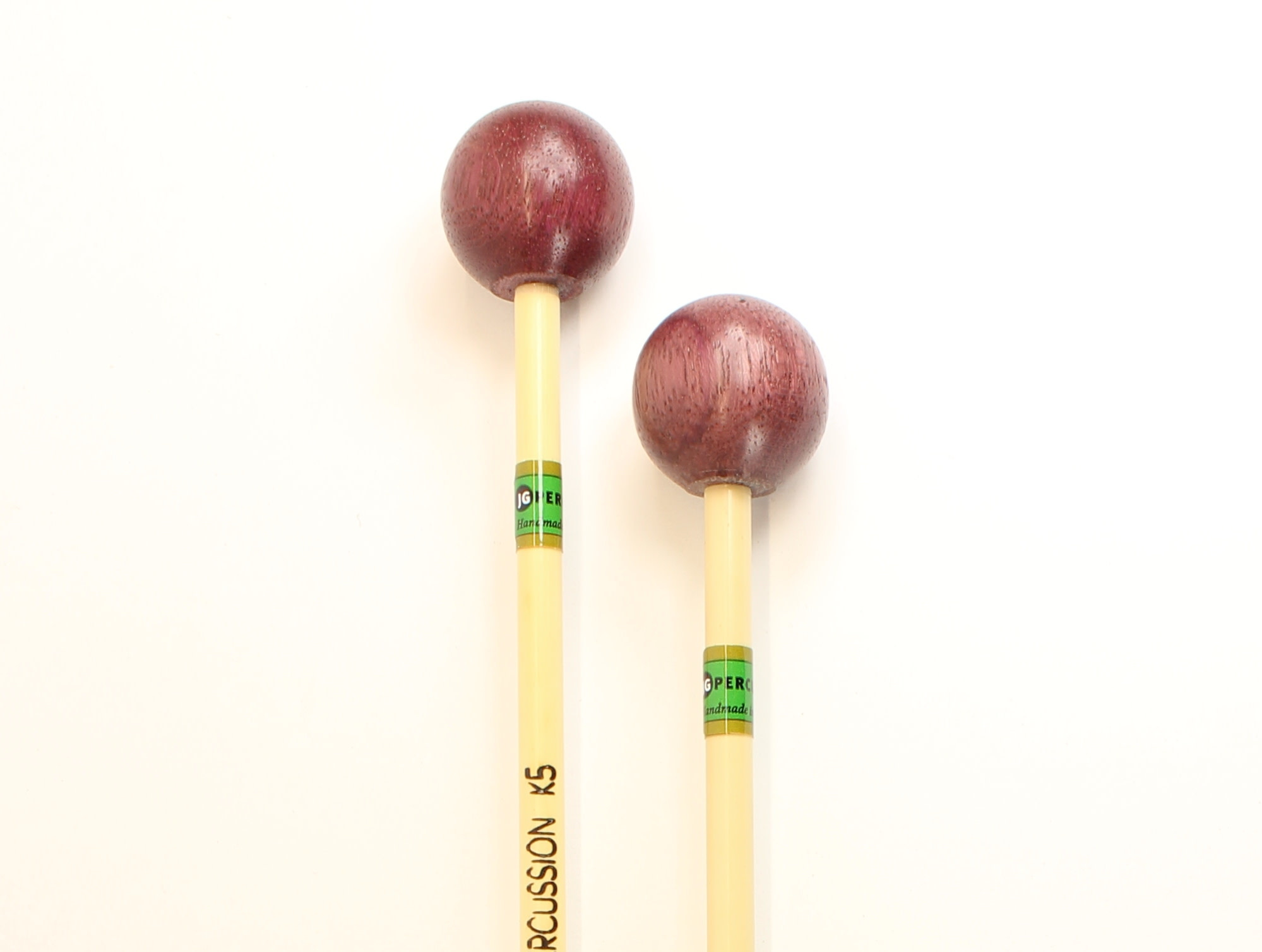 JG Percussion Baguettes JG K5 Purple Heart wood