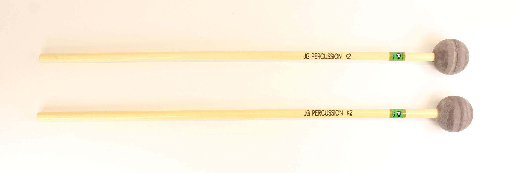 JG Percussion Baguettes JG K2 medium rubber
