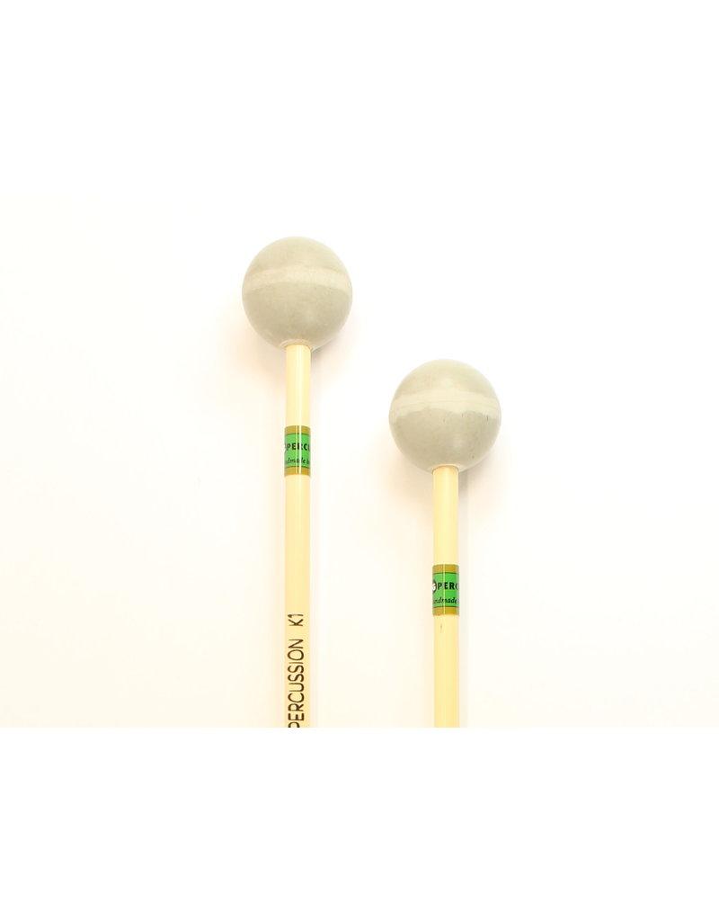 JG Percussion Baguettes JG K1 soft rubber
