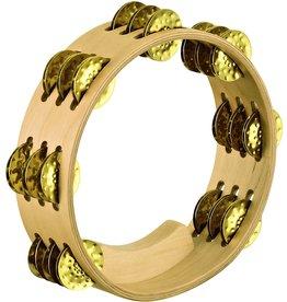 Meinl Meinl Artisan Edition Compact Tambourine 3 rows brass jingles