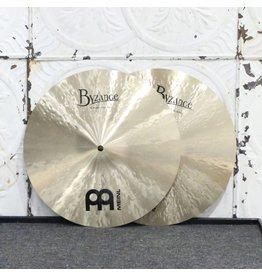 Meinl Meinl Byzance Traditional Medium Hi-hat Cymbals 14in (1196/1394g