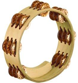 Meinl Meinl Artisan Edition Compact Tambourine 3 rows  - Bronze Jingles