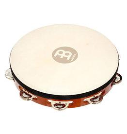 Meinl Meinl Traditional Goatskin Tambourine 1 row steel jingles