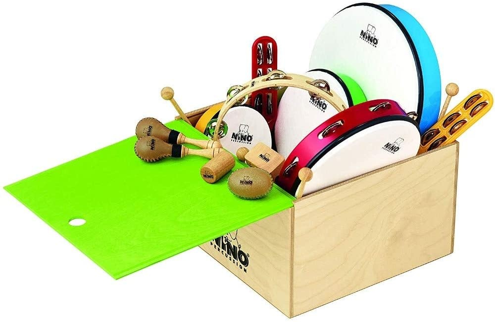 Meinl Meinl Nino Percussion Assortment (12 piece)