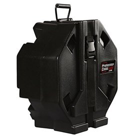 Protechtor Protechtor Blk Evol Series Roto Molded snare case. Fits 13-14 snare drums 5 height