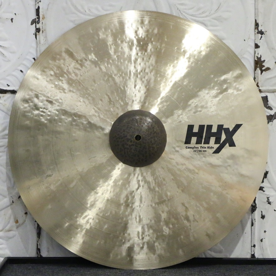 Sabian Sabian HHX Complex Thin Ride Cymbal 22in (2382g)