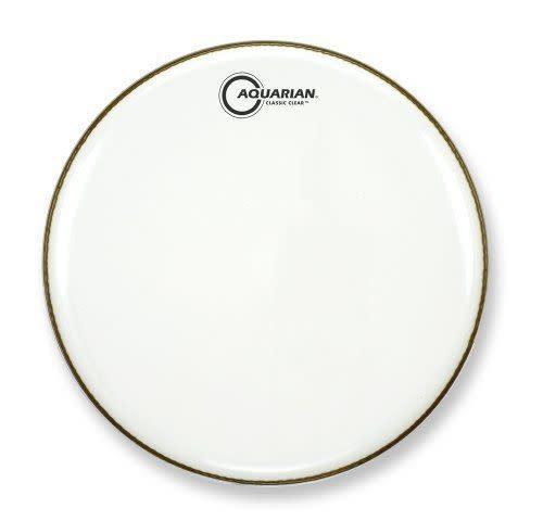 Aquarian Peau de caisse claire Aquarian Classic Clear White 14po