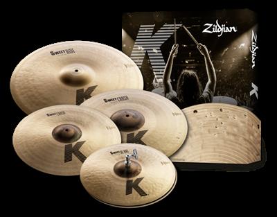 Zildjian Zildjian K Sweet Cymbal Pack (Hi-Hat 15 - Crash 17 and 19 - Ride 21)