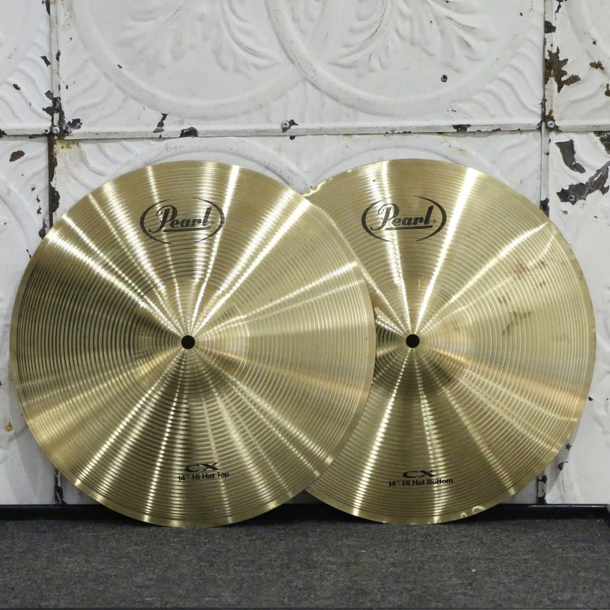 Pearl Used Pearl Hi-hat Cymbals 14in