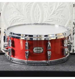 Yamaha Yamaha Absolute Maple Hybrid Snare Drum 14X6in - Red Autumn