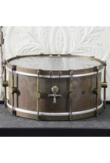 A&F Drum Co A&F Raw Brass Snare Drum 14X6.5in