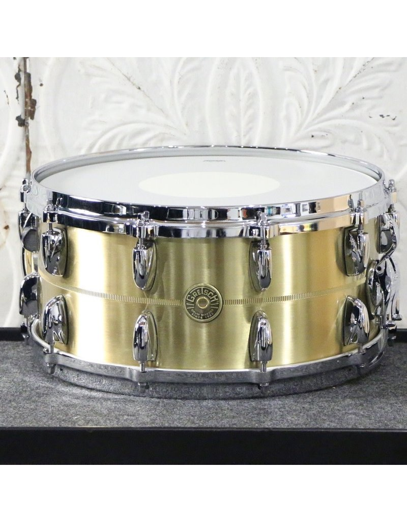 Gretsch Gretsch USA Custom Bell Brass Snare Drum 14X6.5in