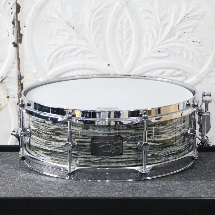 Canopus Canopus NV60-M2 Snare Drum 14X5in - Blue Oyster