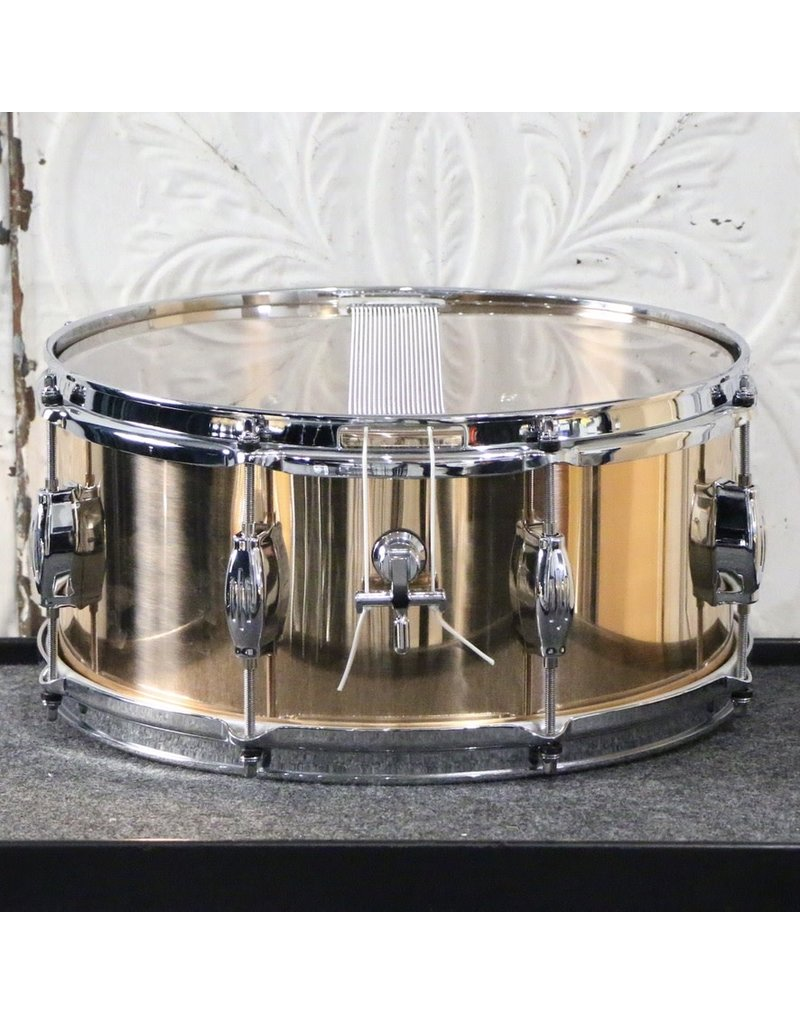 George Way George Way Tuxedo Indy Bronze 14X6.5in Snare Drum