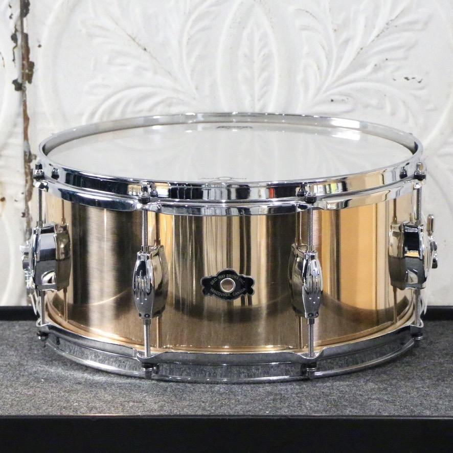 George Way George Way Tuxedo Indy Bronze 14X6.5in Snare Drum