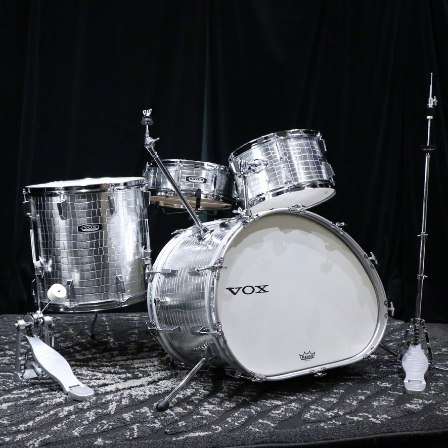 Vox Vox Telstar 4-piece Drum Kit - with hardware