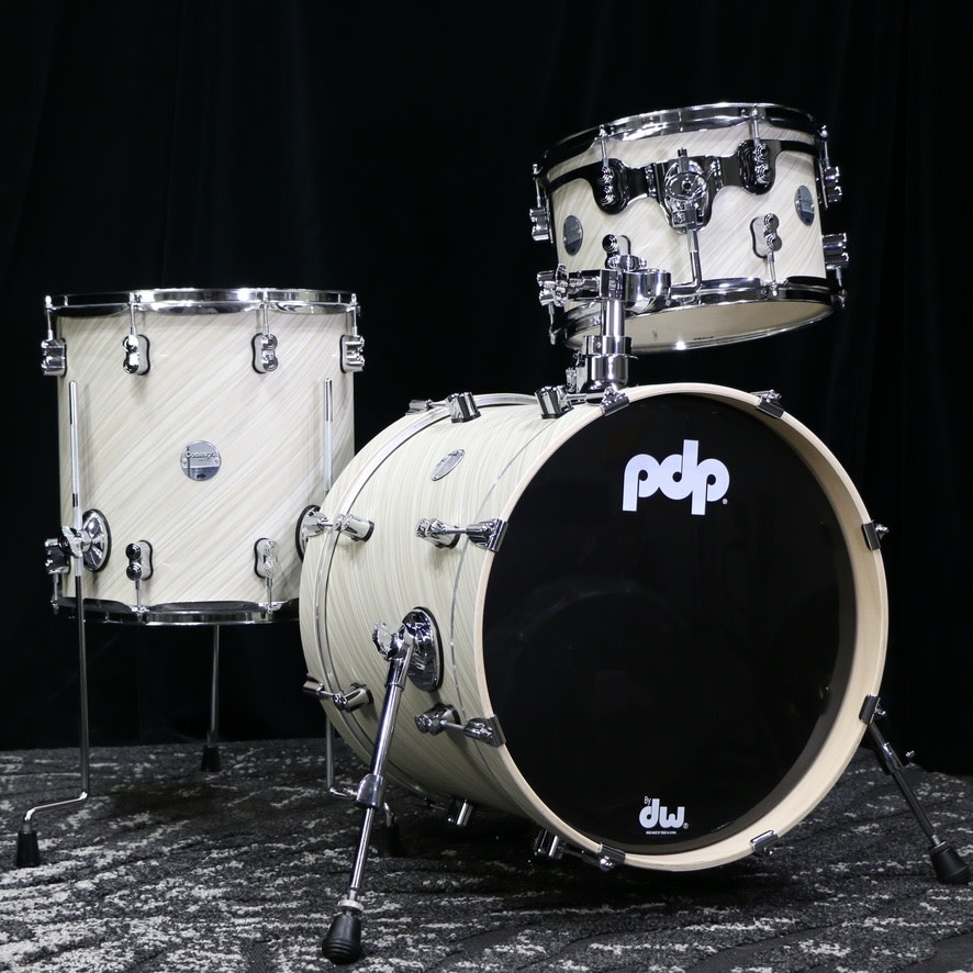 Pacific PDP Concept Maple Drumset 18-12-14in - Twisted Ivory