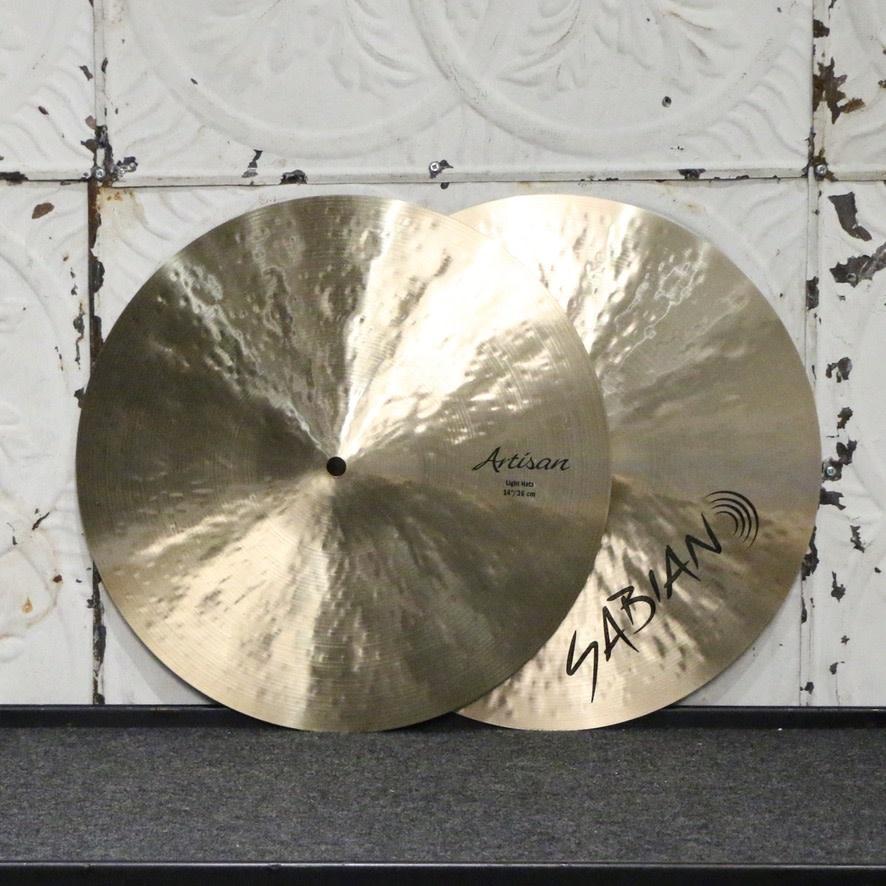 Sabian Sabian Artisan Light Hi Hat Cymbals 14in (with bag) (748/1018g)