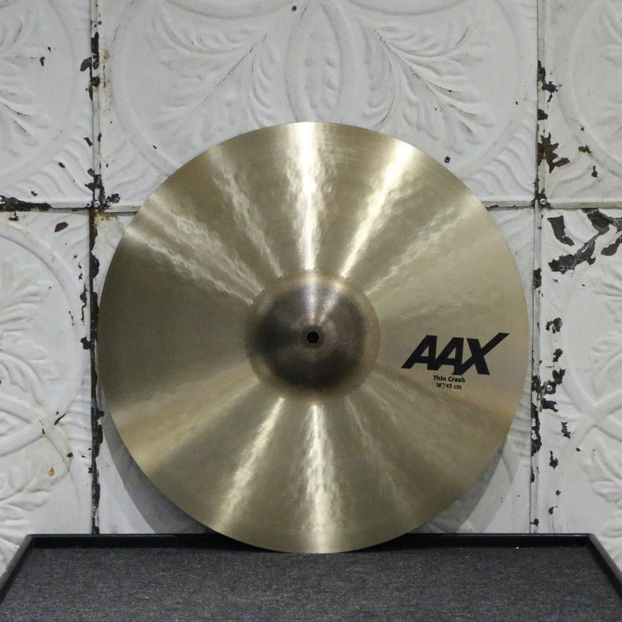 Sabian Sabian AAX Thin Crash Cymbal 18in (1354g)