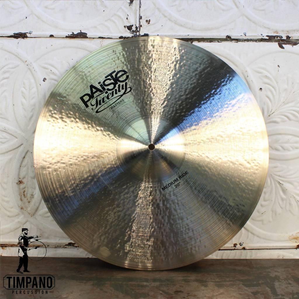 """Paiste Paiste Masters Medium Ride Cymbal 20"""""""