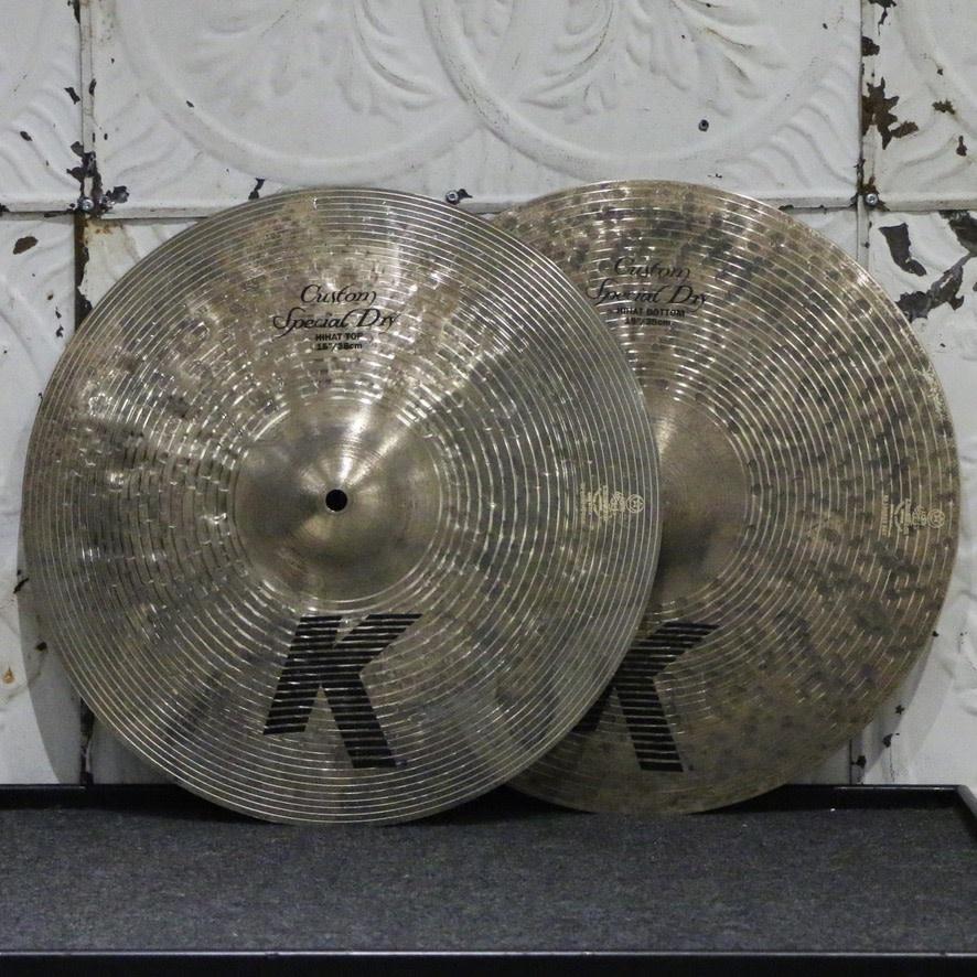 Zildjian Zildjian K Custom Special Dry Hi Hat Cymbals 15in (1124/1638g)