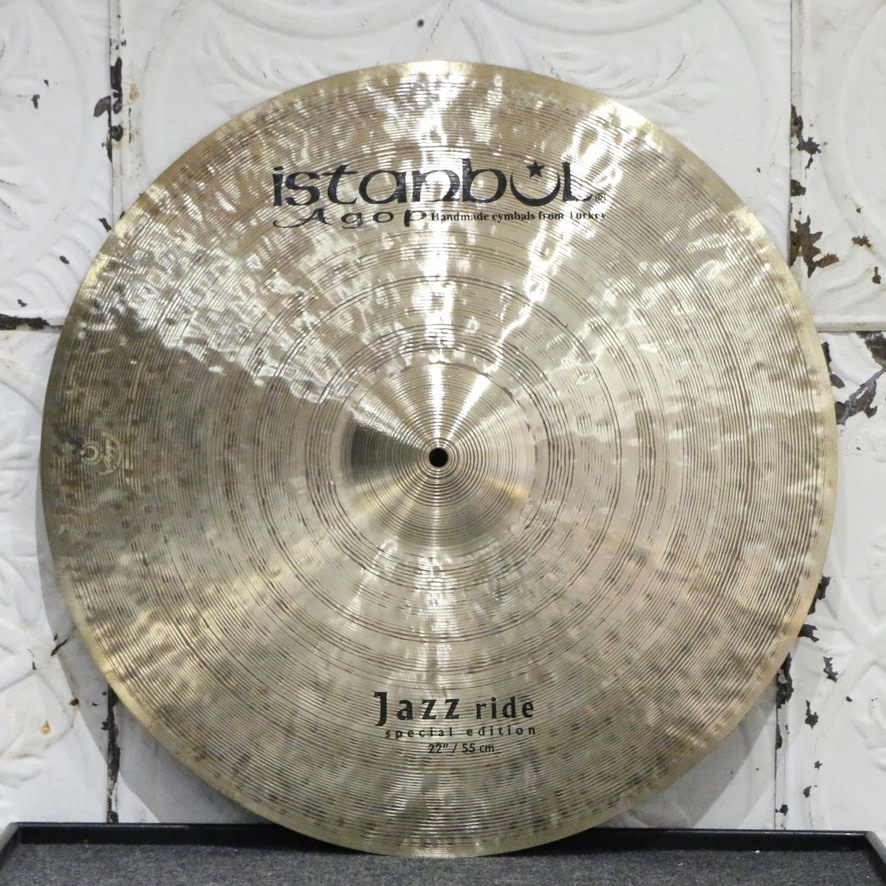 Istanbul Agop Istanbul Agop Jazz Special Edition Ride Cymbal 22in (2330g)